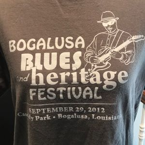 Bogalusa Blues and Heritage Festival tee shirt